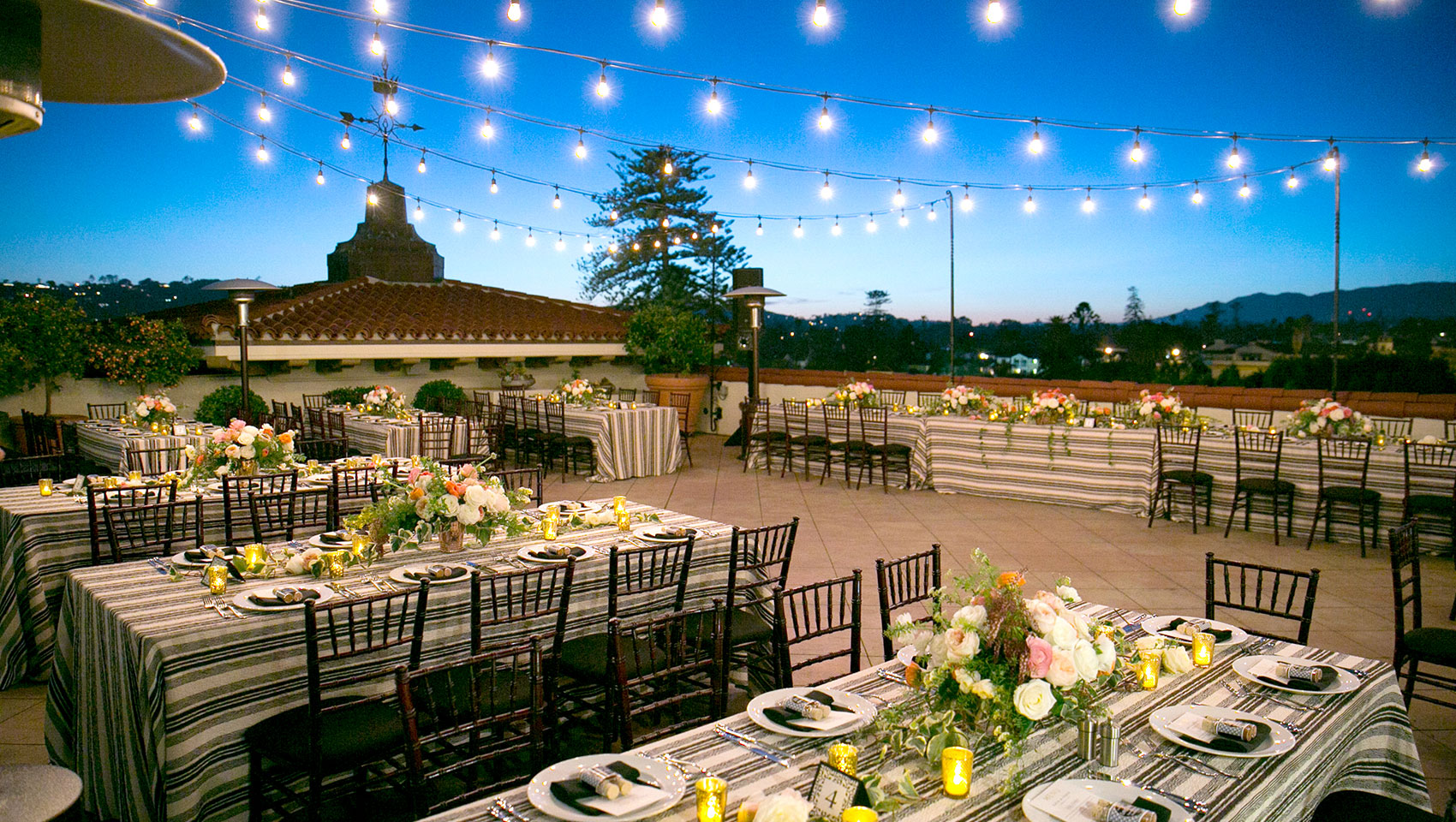 rooftop weddings in santa barbara
