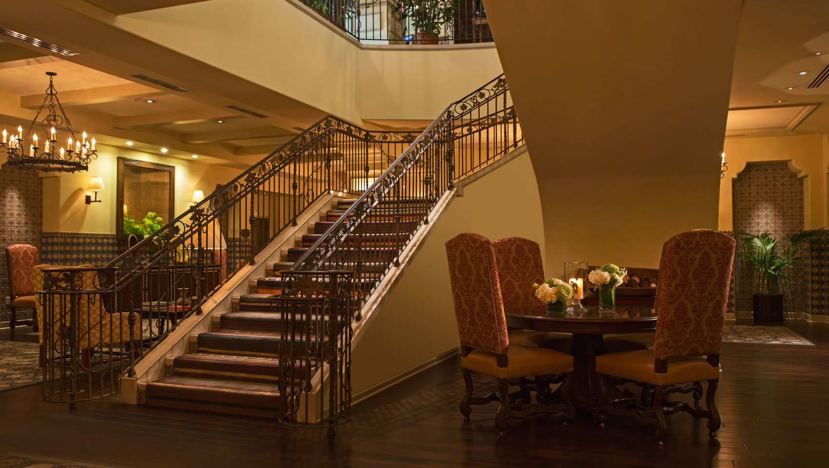 hotel canary lobby staircase