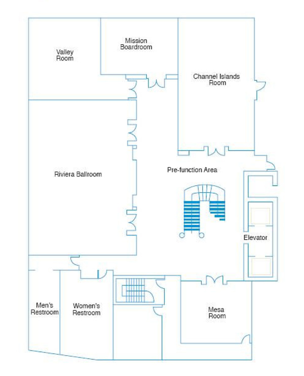 Event Space Floor Plans Kimpton Canary Hotel