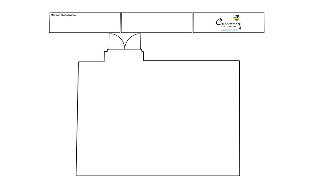 Event space floor plans kimpton canary hotel for Mission santa barbara floor plan