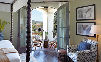 santa-barbara-bedroom-balcony-boutique accessible premiere room with king