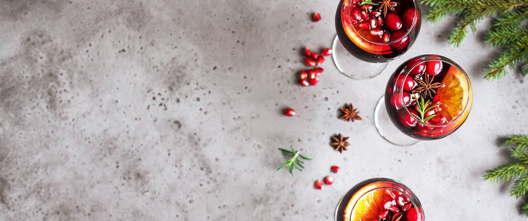 holiday sangria cocktails